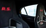 Renault Megane RS Trophy Recaro seats
