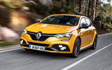 Renault Megane RS Trophy on the road