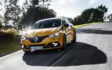 Renault Megane RS Trophy road driving