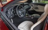 Mercedes- Benz C 250 d interior
