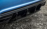 Mercedes-AMG A 45 rear diffuser