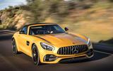 Mercedes-AMG GT C Roadster front quarter