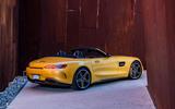 Mercedes-AMG GT C Roadster rear quarter