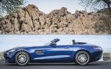Mercedes-AMG GT Roadster side profile