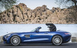 Mercedes-AMG GT Roadster roof closed