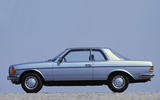 1977 Mercedes-Benz 230C side view
