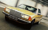 1977 Mercedes-Benz 230C front view
