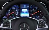 Mercedes-Benz C-Class instrument cluster
