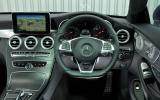 Mercedes-Benz C 250 d dashboard