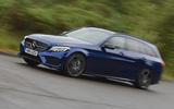 Mercedes-AMG C 43 Estate cornering