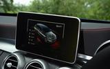 Mercedes-AMG C 43 Estate infotainment system