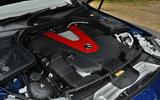 3.0-litre V6 Mercedes-AMG C 43 engine