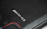 Mercedes-AMG branded floor mats