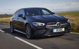 Mercedes CLA Shooting Brake front side moving