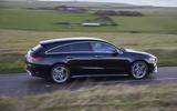 Mercedes CLA Shooting Brake side moving