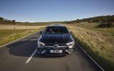 Mercedes CLA Shooting Brake front dead