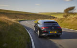 Mercedes CLA Shooting Brake rear moving