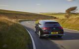 Mercedes CLA Shooting Brake rear moving