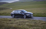Mercedes CLA Shooting Brake side front moving