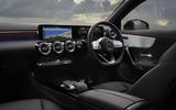 Mercedes CLA Shooting Brake dash
