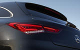 Mercedes CLA Shooting Brake detail bootlid