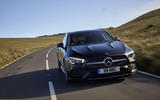 Mercedes CLA Shooting Brake  front moving