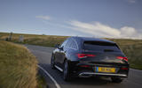 Mercedes CLA Shooting Brake rear cornering