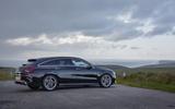 Mercedes CLA Shooting Brake side rear static