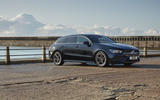 Mercedes CLA Shooting Brake side static