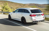 Mercedes-AMG E63 Estate side and back