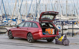 Mercedes-Benz E 220 d Estate boot space