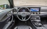 Mercedes-Benz E 220 d Estate dashboard