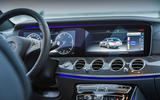 Mercedes-Benz E 220 d Estate infotainment system