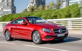 Mercedes-Benz E-Class Coupe E 220 d 4Matic front three-quarter shot