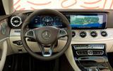 Mercedes-Benz E-Class Coupe E 220 d 4Matic driving position