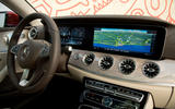 Mercedes-Benz E-Class Coupe E 220 d 4Matic interior dashboard