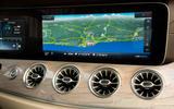Mercedes-Benz E-Class Coupe E 220 d 4Matic infotainment screen