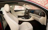 sMercedes-Benz E-Class Coupe E 220 d 4Matic front seats