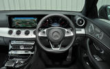 Mercedes-Benz E 350 d dashboard