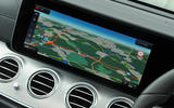 Mercedes-Benz E 350 d COMAND infotainment