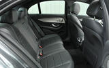 Mercedes-Benz E 350 d rear seats