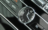 Mercedes-Benz E 350 d analogue clock
