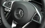 Mercedes-Benz E 350 d steering wheel