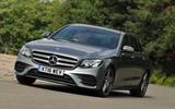 Mercedes-Benz E 350 d cornering