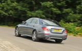 Mercedes-Benz E 350 d rear cornering