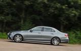 Mercedes-Benz E 350 d side profile
