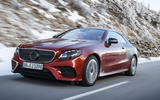 2017 Mercedes E-Class Coupe: we take a ride