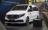 Mercedes-Benz EQV makes public debut at Frankfurt