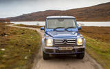 Off-roading in a Mercedes-Benz G-Class
