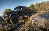 Heavy off-roading Mercedes-Benz G 500